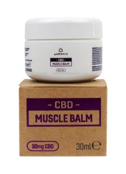Ambience CBD Infused 50mg CBD Muscle Balm 30ml